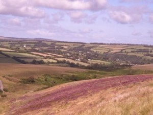 View over Withypool